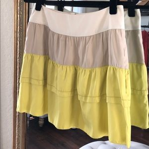 Tiered skirt from Banana Republic